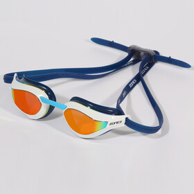 Zone3 Viper Speed Swim Svømmebriller, mirror lens/navy/white